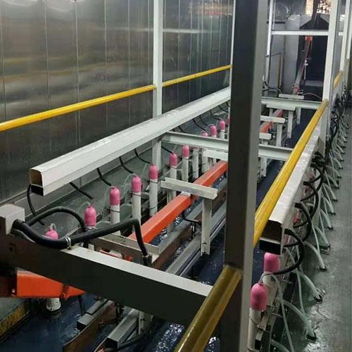 电泳涂装线提升工业铝型材的成品率
